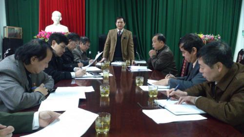 Hội nghị giao ban báo chí tháng 1/2014