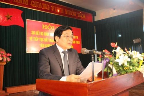 Tỉnh ủy Sơ kết 3 năm thực hiện Chỉ thị số 03-CT/TW của Bộ Chính trị