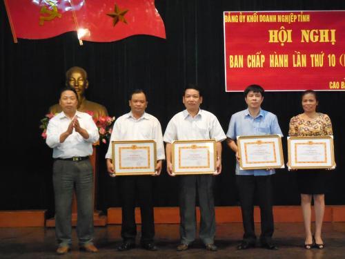 Phó Bí thư Tỉnh ủy Đinh Quế Hải - Phát huy vai trò lãnh đạo của Đảng đối với hoạt động của DN