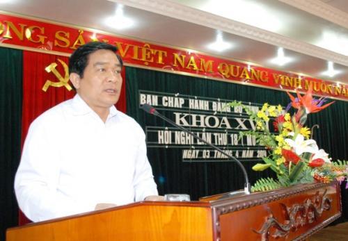 Hội nghị Ban Chấp hành Đảng bộ tỉnh khóa XVII lần thứ 18 (mở rộng)