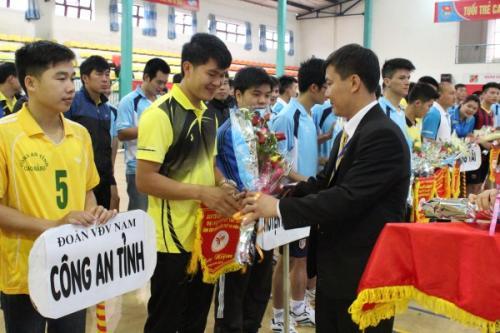 Khai mạc Giải bóng chuyền Đại hội TDTT tỉnh lần thứ VII