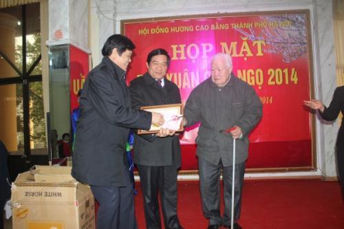 Bí thư Tỉnh ủy Hà Ngọc Chiến gặp mặt Hội đồng hương Cao Bằng tại Hà Nội