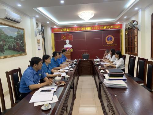 CĐCS Tòa án nhân dân tỉnh thực hiện Kiểm tra việc thực hiện Điều lệ Công đoàn Việt Nam và hoạt động tài chính Công đoàn