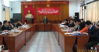 Hội thảo khoa học Phát triển Đảng viên mới từ công nhân trong các loại hình doanh nghiệp