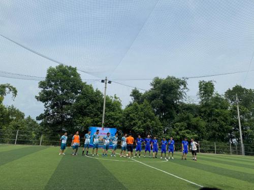 Công đoàn Tòa án tham gia Giải bóng đá nhân dịp kỷ niệm 60 năm ngày thành lập ngành Kiểm sát nhân dân (26/7/960-26/7/2020).