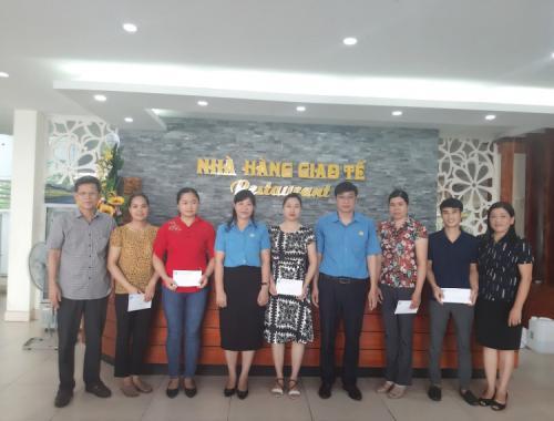 Công đoàn viên chức tỉnh Cao Bằng thăm hỏi và hỗ trợ các đoàn viên có hoàn cảnh khó khăn thuộc Công đoàn Văn phòng UBND tỉnh