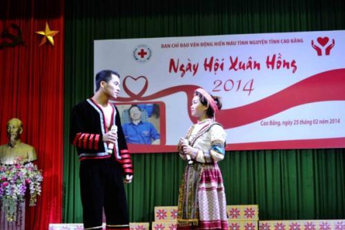 Ngày hội Xuân hồng năm 2014 Hơn 300 người hiến máu tình nguyện