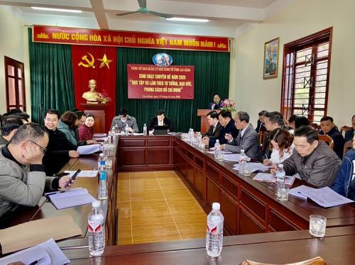 Công đoàn cơ sở Ban quản lý Khu kinh tế tỉnh Cao Bằng