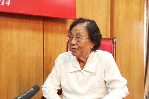 Bà Nguyễn Thị Bình - Hành động của Trung Quốc là
