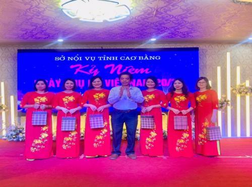 Công đoàn Sở Nội vụ tổ chức gặp mặt kỷ niệm 89 năm thành lập Hội Liên hiệp Phụ nữ Việt Nam 20/10/1930 - 20/10/2019