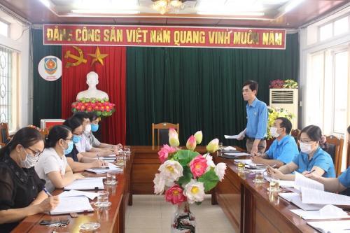 CĐCS Sở Tư pháp thực hiện Kiểm tra việc chấp hành Điều lệ Công đoàn Việt Nam và quản lý, sử dụng tài chính, tài sản công đoàn