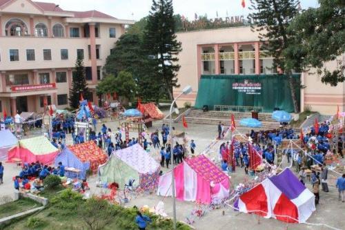 Trường CĐSP tỉnh Hội trại Văn hóa kỷ niệm 83 năm Ngày thành lập Đoàn