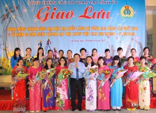 Hoạt động của Công đoàn các cơ quan tại Tỉnh ủy Cao Bằng