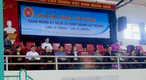 Công đoàn Viện KSND Tỉnh tổ chức giải cầu lông, cờ tướng ngành KSND lần thứ II.