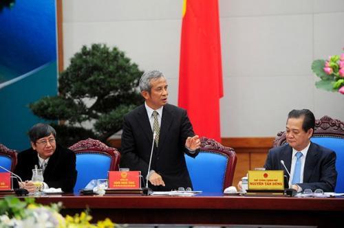 Thông báo Kết luận Hội nghị thực hiện Quy chế về mối quan hệ công tác giữa Chính phủ và Tổng Liên đoàn Lao động Việt Nam năm 2014