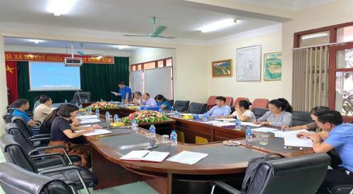 Kiểm tra việc thực hiện Điều lệ Công đoàn Việt Nam và hoạt động tài chính Công đoàn năm 2020 tại Công đoàn cơ sở Trường Trung cấp nghề Cao Bằng.