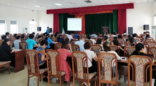 Công đoàn Viên chức tỉnh Cao Bằng tổ chức Hội nghị tập huấn nghiệp vụ công tác Công đoàn cho cán bộ CĐCS năm 2019.