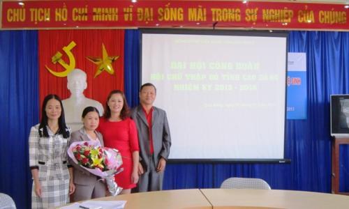 Đại hội CĐCS Hội Chữ thập đỏ tỉnh Cao Bằng, nhiệm kỳ 2013 - 2018