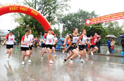 Sôi động và ấn tượng Giải Việt dã toàn tỉnh tranh Cúp Báo Cao Bằng