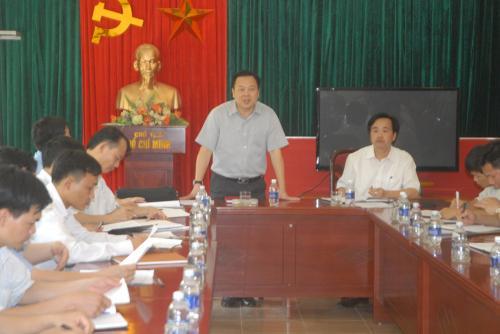 Chủ tịch UBND tỉnh Nguyễn Hoàng Anh kiểm tra tình hình phát triển kinh tế cửa khẩu
