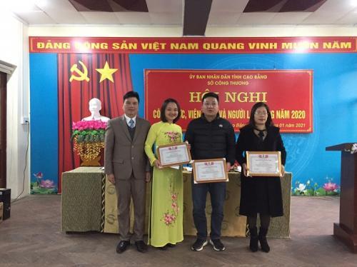Sở Công Thương Cao Bằng tổ chức Hội nghị  công chức, viên chức và người lao động năm 2020