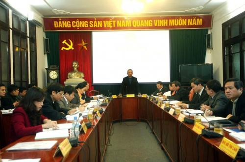 Khai mạc Hội nghị Đoàn Chủ tịch Tổng LĐLĐVN lần thứ 5