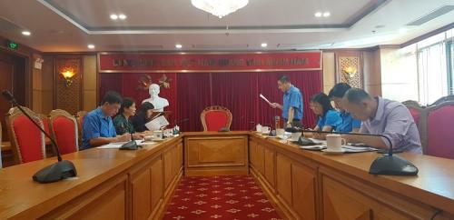 Thực hiện công tác kiểm tra việc chấp hành Điều lệ Công đoàn Việt Nam và việc quản lý sử dụng tài chính tại Công đoàn cơ sở Ban Dân vận Tỉnh uỷ Cao Bằng