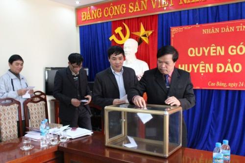 Ủy ban MTTQ tỉnh Phát động quyên góp ủng hộ huyện đảo Trường Sa