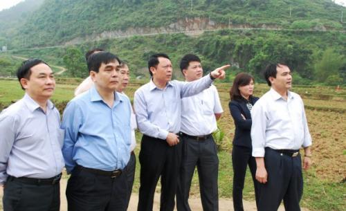 Ban Chỉ đạo Công tác thông tin đối ngoại Trung ương làm việc tại Cao Bằng