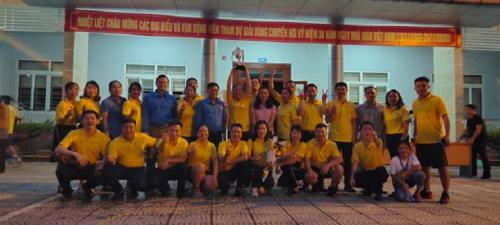 CĐCS Trường Chính trị Hoàng Đình Giong tổ chức Bóng chuyền hơi chào mừng kỷ niệm 38 năm ngày Nhà giáo Việt Nam (20/11/1982 - 20/11/2020)