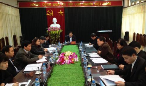 Đoàn ĐBQH tỉnh Lấy ý kiến góp ý vào Dự thảo Luật Tổ chức Quốc hội