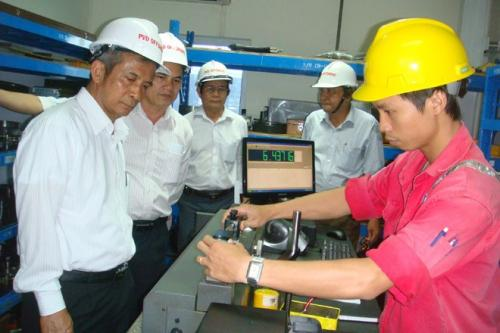 Chủ tịch Tổng LĐLĐVN Đặng Ngọc Tùng làm việc tại Thái Bình