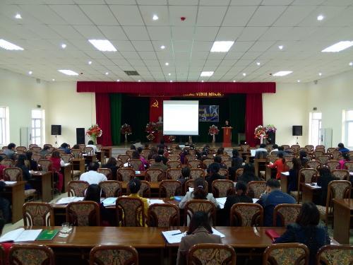 LĐLĐ tỉnh Cao Bằng tập huấn công tác tài chính Công đoàn năm 2014