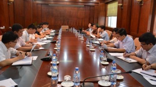 Đoàn công tác Dự án Năng lượng nông thôn 2 làm việc tại Cao Bằng