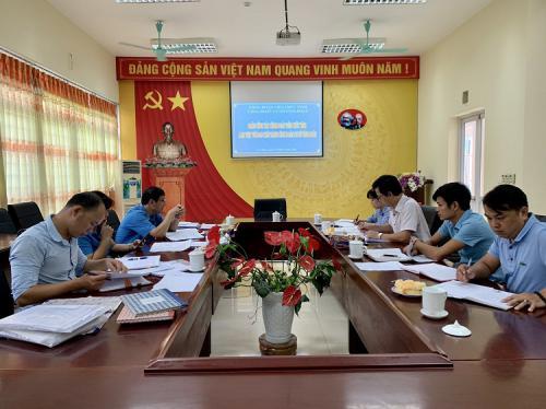 Công đoàn Viên chức tỉnh kiểm tra việc chấp hành Điều lệ Công đoàn Việt Nam và hoạt động tài chính công đoàn tại CĐCS Tỉnh Đoàn