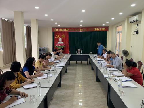 CĐCS Sở Kế hoạch và Đầu tư tỉnh Cao Bằng thực hiện kiểm tra việc chấp hành Điều lệ Công đoàn Việt Nam và công tác tài chính, tài sản công đoàn.