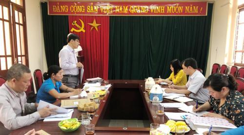 CĐCS Báo Cao Bằng thực hiện kiểm tra Điều lệ CĐVN và tài chính CĐ